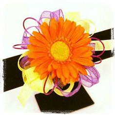 Bold & Bright Gerbera daisy Corsage