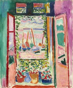 the open window matisse - Google Search