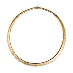 14k Yellow Gold 10mm Omega Necklace - 20 Inch - JewelryWeb JewelryWeb http://www.amazon.com/dp/B001MDR8DG/ref=cm_sw_r_pi_dp_XW82wb09SCJTH