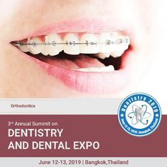 Dentistry 2020 is on Mar 4 2020 at Auburn Medical Conferences, Crooked Teeth, Orthodontics, Dental Care, Dentistry, Back Pain, Decay, Muscles, Keep It Cleaner