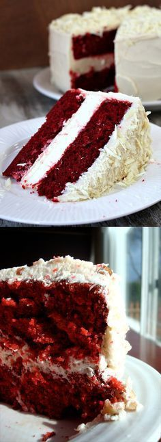 31 red velvet valentines day cake easy recipe ultimate delcious the best dessert cream icing chocolate ganache cream chese frosting better baking bible blo Easy Baking Recipes, Easy Cake Recipes, Sweet Recipes, Yummy Recipes, Delicious Chocolate, Chocolate Recipes, Chocolate Ganache, Chocolate Covered, Chocolate Cheesecake