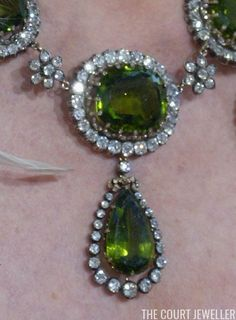 Bejeweled Close-Ups: The Habsburg Peridot Parure | The Court Jeweller