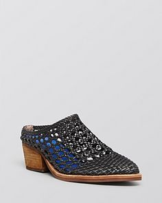 Jeffrey Campbell Mules / Armadillo Woven