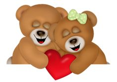 ༺♛ Christine Staniforth ♛༻ Sweet Dreams Love, Valentines Day Cartoons, Bear Clipart, Cute Teddy Bears, Cartoon Images, Tole Painting, Deco, Bowser, Have Fun