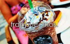 This is my fav ever! McCafe- double chocolate chip frappe Starbucks- Vanilla bean frappe or chocolate frappe Sonic Chillers (frappe)- medium chocolate expresso  YUMMMMM!!!!!!!!!!!!!!!!!