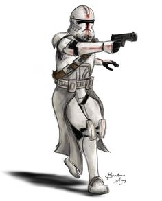 star wars clone trooper concept art - Google Search