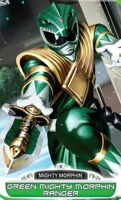 Green Mighty Morphin Power Ranger