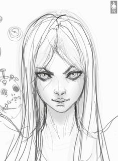 Alice http://huaban.com/pins/150794160/ ★ || CHARACTER DESIGN REFERENCES…