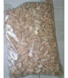 Bolsa 1 Kg Piedra cerámica irregular rosada fina para maquetas. 1202961K