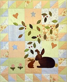 mummy & baby bunny - Some Bunny Loves You-Gretchen Wilson design