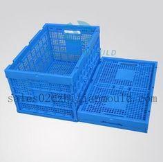 plastic foldable crate mould