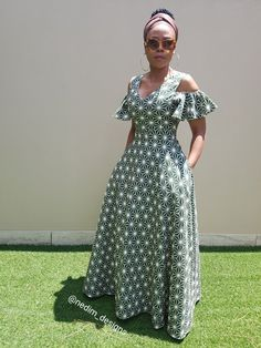 50 traditional shweshwe dresses 2018 new African Dresses For Women, African Print Dresses, African Attire, African Wear, African Fashion Dresses, African Women, Fashion Outfits, African American Fashion, African Print Fashion