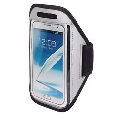 """Sports Running Jogging Gym Armband Pouch Case Cover Gray for Note 2 3. Color: Gray; Product Name: Armband Pouch Case; Net Weight: 51g. Package Content: 1 Pcs x Armband Pouch Case(non-OEM); Material: Plastic,PU Leather,Neoprene. Type: Pouch/Sleeve; Total Size: 43 x 17.5cm/17"""" x 6.8""""(L*Max.W). Features: With Strap; Design: Plain. Compatible Model: for Note 2 3; Fit Arm Size: 32-37cm/12.5-14.5 Inches."""