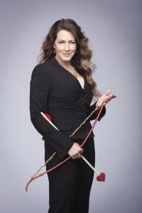 """Joely Fisher stars as a workaholic talk show host who needs help in the love department in the Hallmark Channel original movie, """"Cupid."""""""