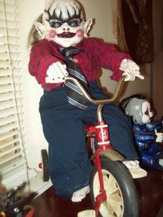 Creepy Dolls For Sale | Horror Scary Creepy Gothic Demon Clown Doll Ooak used, new for sale ...