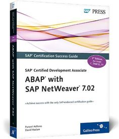 13 best sap netweaver gateway and odata services images on pinterest sap certified development associate abap with sap netweaver 702 by puneet asthana 2012 fandeluxe Choice Image