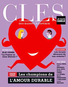 Cover Illustration for magazine CLES