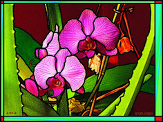 Roger Gordy Art | Imaginary Stained Glass
