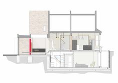 """""""This was another sensitive spot,"""" said Tigg. """"We had to be sure not to distract from the existing Victorian form and streetscape."""" Photo 8 of 8 in A London Town House Renovation Beaming with Personality Bungalow Extensions, House Extensions, Victorian Decor, Victorian Homes, Victorian Architecture, Interior Architecture, Drawing Architecture, 1920s Interior Design, Modern Contemporary Homes"""