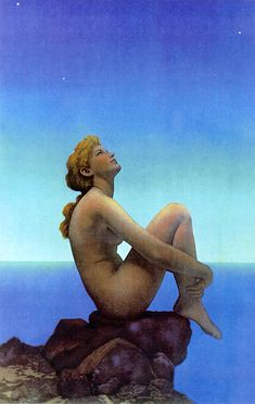 """Stars"" by Maxfield Parrish (one of my favorite pieces ever)"