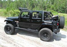 Cool jeep Aev Jeep, Jeep Wrangler Lifted, Jeep Truck, Jeep Wranglers, Jeep Wrangler Accessories, Black Jeep, Cool Jeeps, 4x4, Monster Trucks