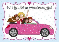Wat fijn dat we vriendinnen zijn! #annesara #friends #vriendschapskaarten #hallmark