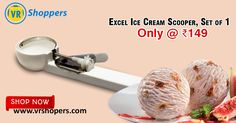 Wash and dry properly after use Easy to use and maintain Made of ABS Plastic Material. Stainless Steel Blades Helps to serve ice cream in tempting round shape This Ice Cream Scooper From The Made Of ABS Plastic With Stainless Steel Scoop To Make Ice Cream Float Out Smoothly. Shop Online Ice cream Scooper  on #VRShoppers only @ 149/-  For more details visit https://www.vrshopers.com/buy-excel-ice-cream-scooper-online #Kitchenappliances #Onlineshopping #scooper  #Buyforkitchen