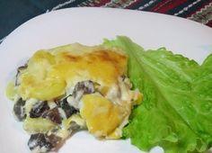 Как приготовить лазанью, необычную - с картофелем и грибами под соусом бешамель. Ингредиенты. Описание рецепта приготовления картофельной лазаньи.