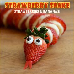 Fun finger food ideas if you are caregiving for a person with cognitive decline who needs easy, healthy snacks! Healthy Afternoon Snacks, Healthy Snacks For Kids, Kid Snacks, Lunch Snacks, Eat Healthy, Animal Party Food, Animal Food, Kinder Party Snacks, Snake Party