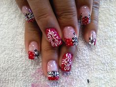damask nails. need to do these.