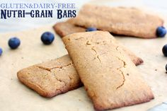 Gluten-Free Homemade Nutri-Grain Bars!
