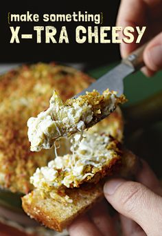 Cheesy Spinach and Artichoke Dip — The party doesn't start until this ooey-gooey-cheesy dip arrives! Filled with artichokes, spinach, cheese, mayo and garlic powder, it's one dip that makes the VIP recipe list.