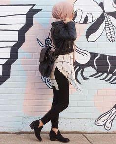 Style : Hijab Fashion 2017 : Comment avoir un Hijab street style tendance Hijab Fashion 2017, Modern Hijab Fashion, Street Hijab Fashion, Islamic Fashion, Muslim Fashion, Fashion Outfits, Trendy Fashion, Modest Fashion, Fashion Fashion