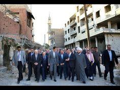 """بشار الأسد يتقمص شخصية """"الحسين"""" ويتحول إلى حامي المراقد الشيعية! - هنا سوريا"""