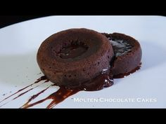 Molten Chocolate Cake - Bruno Albouze - THE REAL DEAL - YouTube