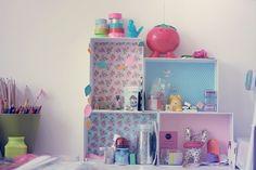 DIY recycler vos box en mini étagères – Poulette Magique