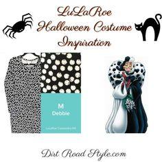 Cruella LuLaRoe Costume Inspiration