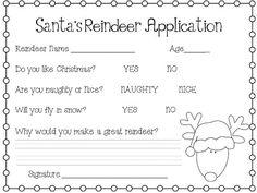 Reindeer Application & Craft