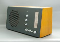Radio themed party...this would be a cool design for a cake.  Braun RT 20, designed by Dieter Rams and Hans Gugelot in 1961!