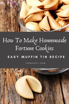 How To Make Delicious Fortune Cookies At Home - Foodie - Muffin Tin Recipes, Easy Cookie Recipes, Baking Recipes, Sweet Recipes, Dessert Recipes, Custom Fortune Cookies, Lofthouse Sugar Cookies, Authentic Chinese Recipes, Perfect Cookie