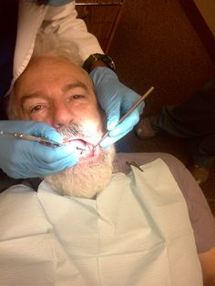 self-portrait @ dentist | cellph portrait while dentist chec ... If you are considering a DDS click on the image to learn more.