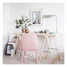 Sweetest little workspace // inspo by flipandstyle