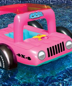 Pink Pool Buggy Float | Daily deals for moms, babies and kids