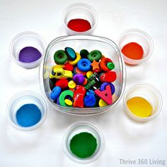 Thrive 360 Living: Color Sorting Activity