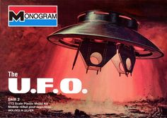 The UFO from 'The Invaders' TV show  (1/72) (fs)