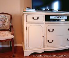 Buffet Turned TV Cabinet
