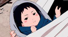Baby Sasuke Uchiha #Naruto >>> wow he was even broody as a baby