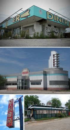 Abandoned Motels, Diners and Gas Stations | Urban Ghosts |