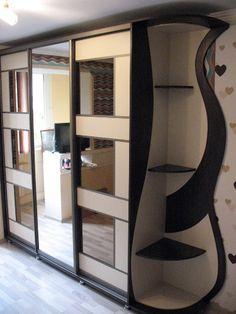 Corner Wardrobe, Wardrobe Room, Wardrobe Design Bedroom, Tv Unit Furniture Design, Bedroom Furniture Design, Sliding Wardrobe Designs, Closet Designs, Almirah Designs, Front Door Design Wood