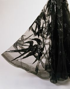 Close up of a Madeleine Vionnet 1938 evening dress   The Met -- http://www.metmuseum.org/toah/works-of-art/C.I.46.4.4a-c
